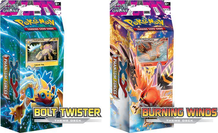 Pokémon XY bolt twister deck (de burning winds heeft Miro al)