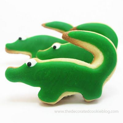 Croc cookies for my kids #lifeinstyle #greenwithenvy
