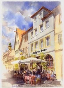 Hotel und Gasthof zur Sonne, Rothenburg ob der Tauber, Germany
