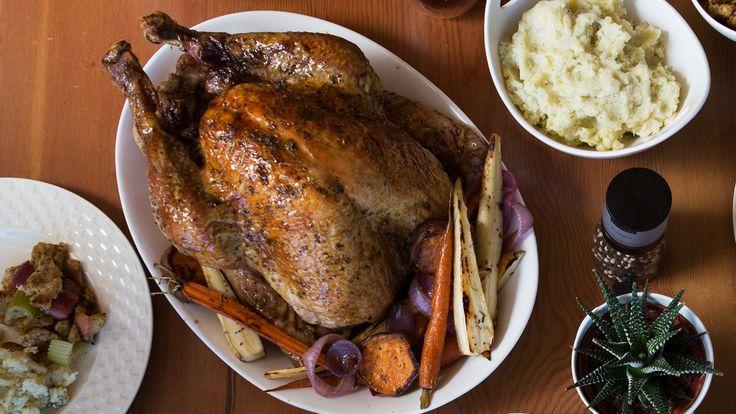 Easy Whole Roast Turkey