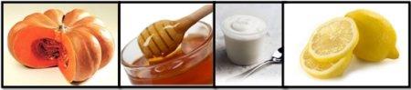 Realizzare questa maschera per il viso fai da te è davvero semplicissimo, vediamo insieme gli ingredienti:  -1 fettina di Zucca gialla;  -1 cucchiaio di miele;  -1 cucchiaio di yogurt;  -Scorza grattugiata di un Limone;