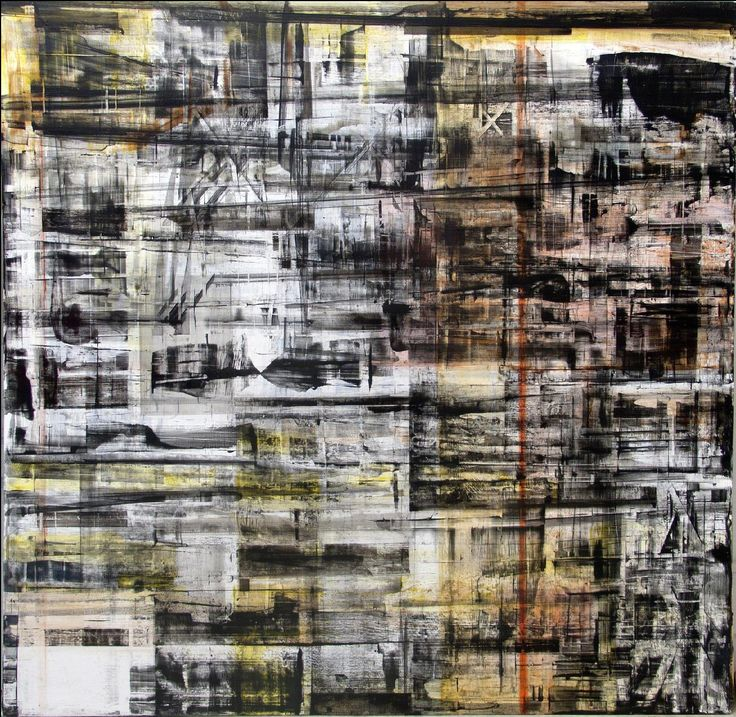 Tolon, Canan - Untitled 2.7, 2013 - oil on canvas, 55 x 55in