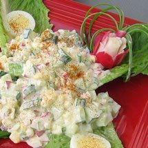 Polish Spring Salad or Salatka Wiosenna
