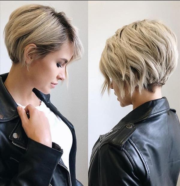 27 Trendy Short Haircut Ideas For Woman 2020 Latest Fashion Trends For Woman Short Hairstyles For Thick Hair Short Hair Trends Thick Hair Styles