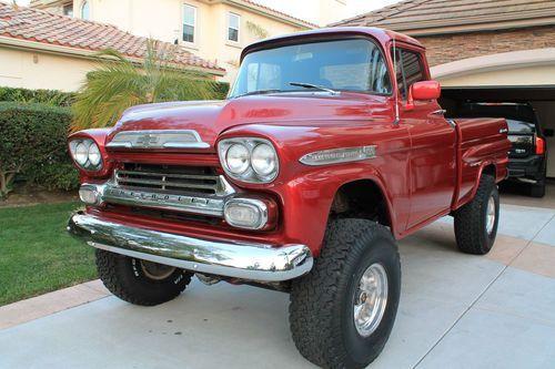 1955 1956 1957 1958 Ck C 10 4x4 Truck Barn Find