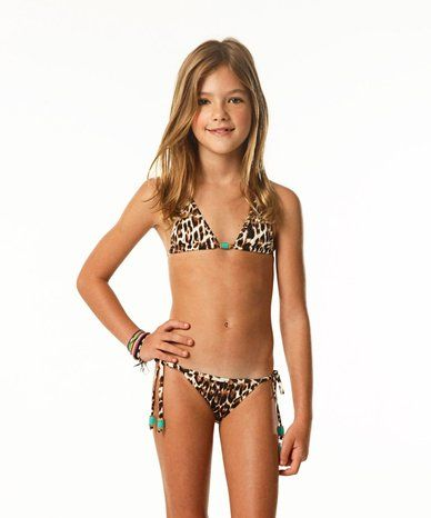my niece amazingvix girls congo triangle two piece set