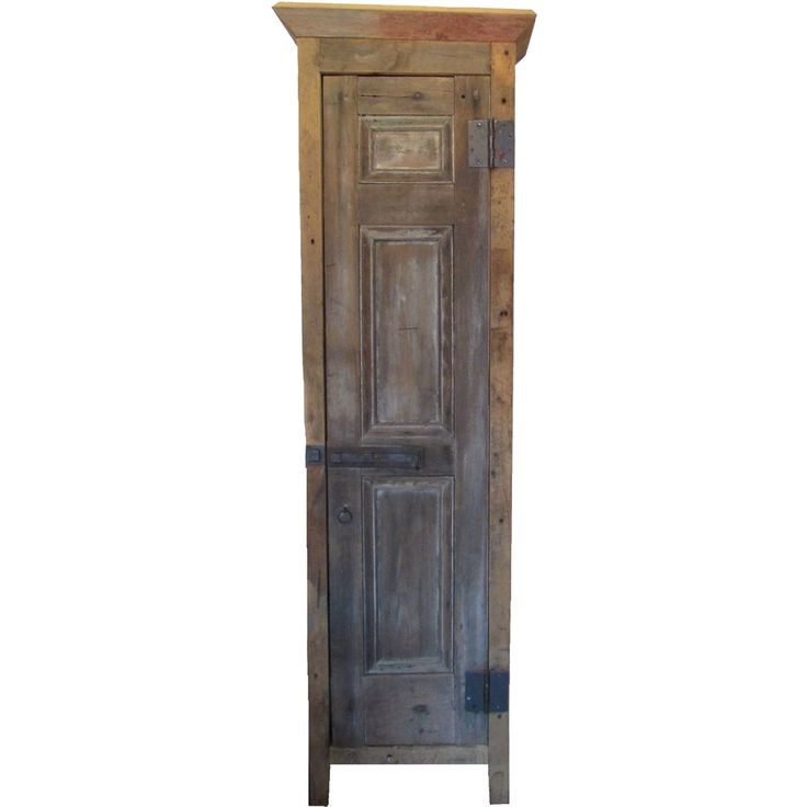 Tall Primitive Wood Cabinet | PCI HOME: Vintage & Antique ...