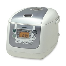 Sanyo Micro-Computerized Rice Cooker and Slow Cooker (for making the perfect rice, steel cut oats, hard boiled eggs)