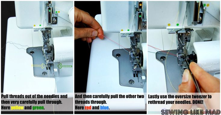 Serger Sewing Tips - The Sewing Rabbit