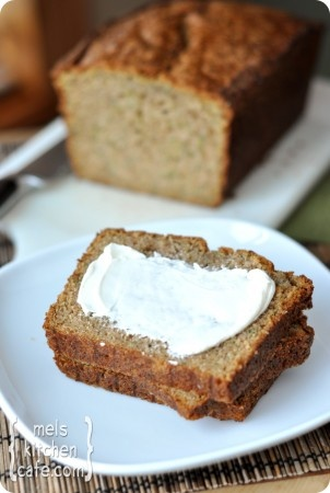 the best zucchini bread - i just made this... and it is