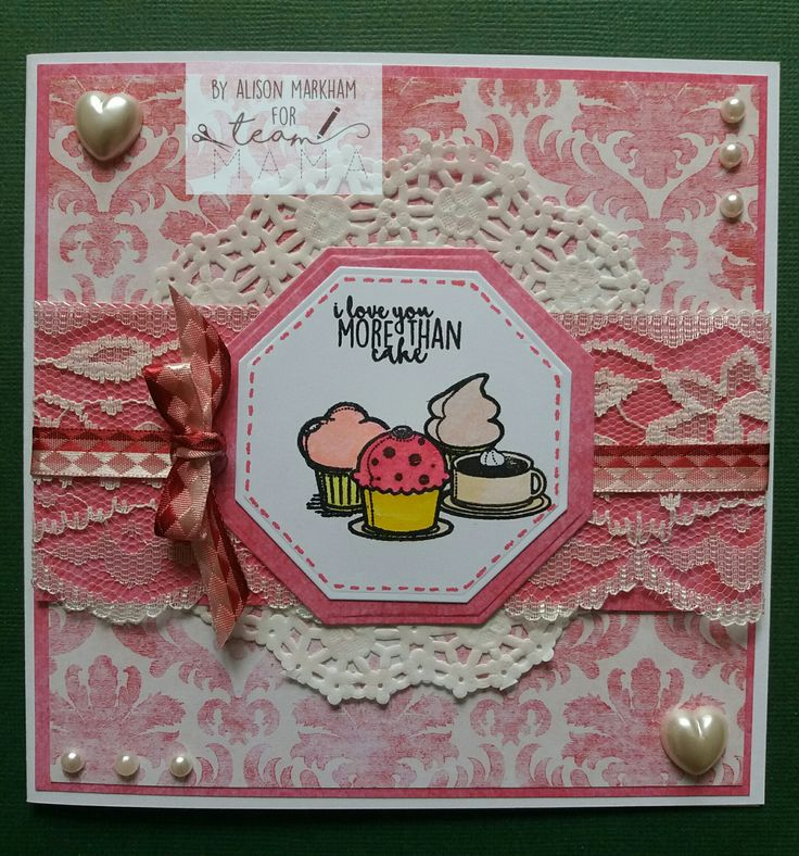 Made using Mama Makes Cake and Friends stamps.