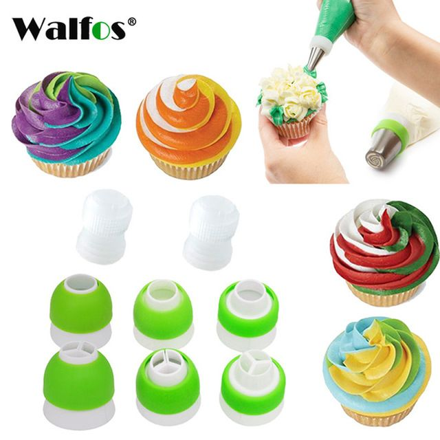 1 Piece Icing Piping Nozzle Icing Tip Converter Cream Coupler 3 Holes Cake Decoration Connector Cake Deco Cake Decorating Tools Icing Tips Icing Piping Nozzles