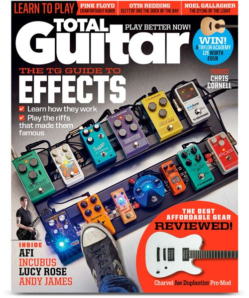 Check out the Latest Issue of Total Guitar Magazine by subscribing to My Favourite Magazines: