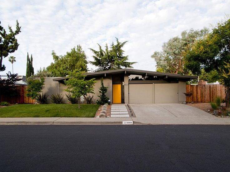 find this pin and more on midcentury modern front - Mid Century Modern Landscaping