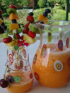 Paloodeh - il frullato di melone all'acqua di rose