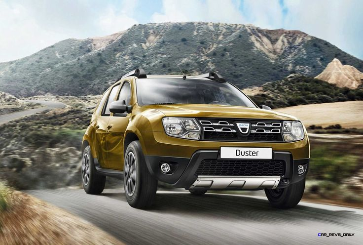 2016 Dacia Duster Adds Easy-R Automatic + Altaï Green and Urban Explorer Specials