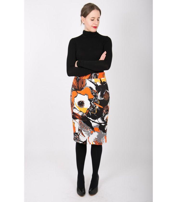 Andiata Top Notch Print Skirt, S - WST