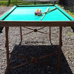 Burrowes portable billiard and pool table | Browns Antiques Billiards and Interiors.