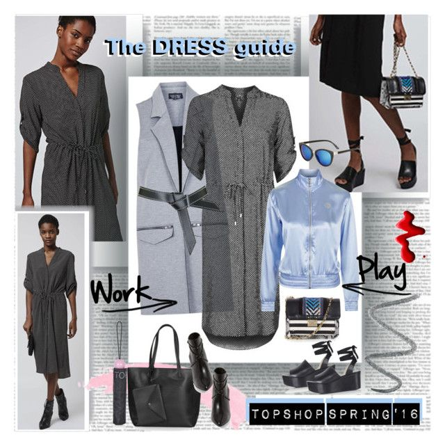 The DRESS guide by stylepersonal on Polyvore featuring polyvore, Topshop, fashion, style, clothing and topshop