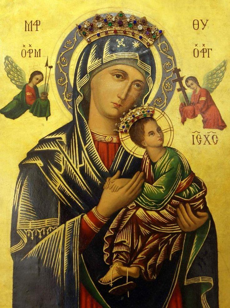 Страстная икона Божией Матери in 2019 Blessed mother