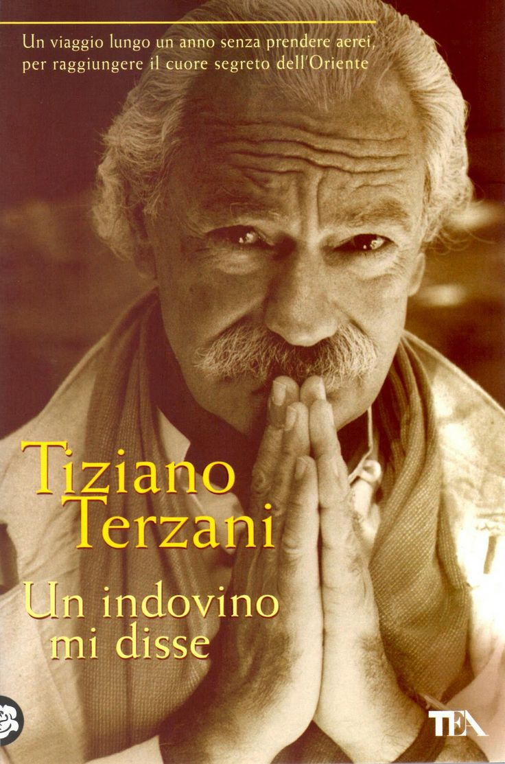 """T. #Terzani - """"Un indovino mi disse"""". Uno di quei #libri di #viaggio che una volta letto... lo rileggi."""