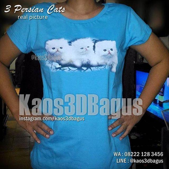 Kaos KUCING, Kaos PERSIAN CATS, Kaos Animal, Kaos Cewek Gambar Kucing, Kaos KUCING LUCU, Kaos 3D, WA : 08222 128 3456, LINE : @kaos3dbagus, https://kaos3dbagus.wordpress.com/2015/06/28/jual-kaos-3d-gambar-kucing-kaos-cat-lover-3d-kaos-pecinta-kucing/