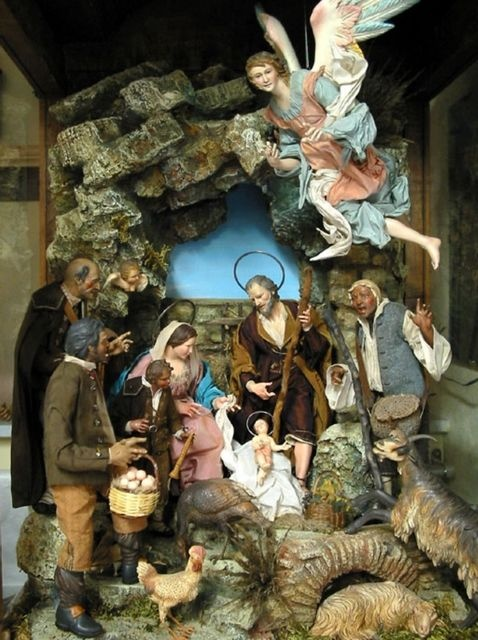 A typical Naples Presepe.