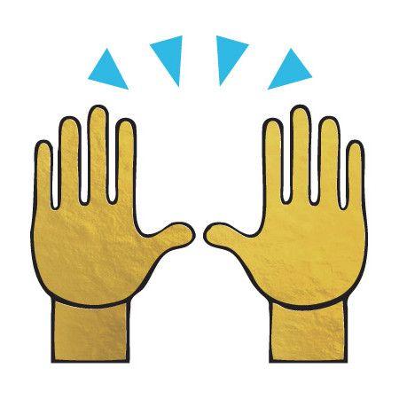 Raised Hands Emoji