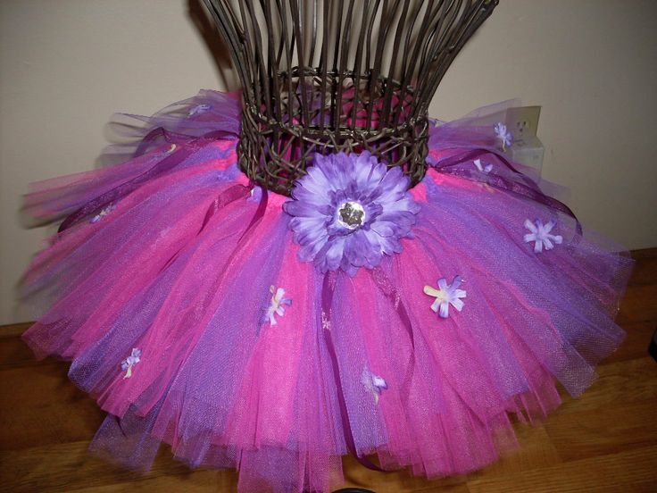 how to make tulle flowers for hair
