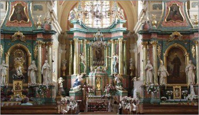Ostroleka-Klasztor wnetrze,