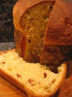 la brioche typique de la période de Noël : le panettone en machine à pain ou thermomix