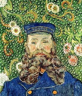 Vincent van Gogh - Portrait of the Postman Joseph Roulin