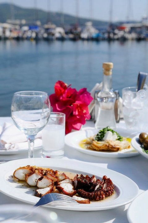 the best seafood at Halkidiki