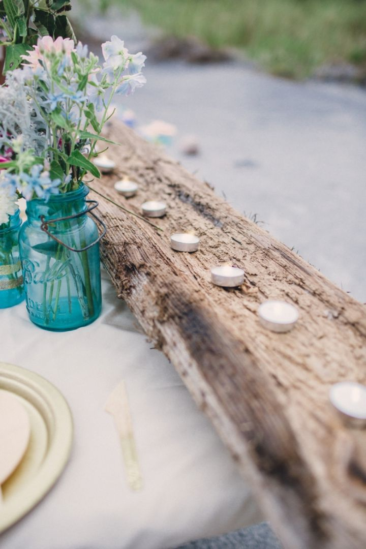 Beach Inspired Preppy Boho Wedding Inspiration