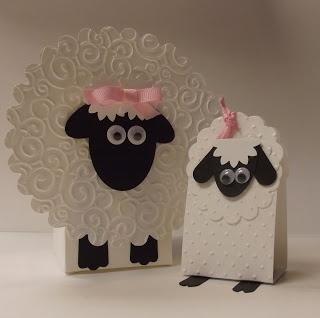 Punch Art Little Lambs