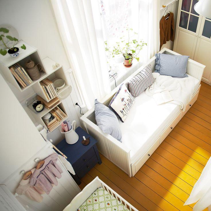 17 meilleures id es propos de chambre troite sur pinterest petites pi ce - Petit canape pour chambre ...