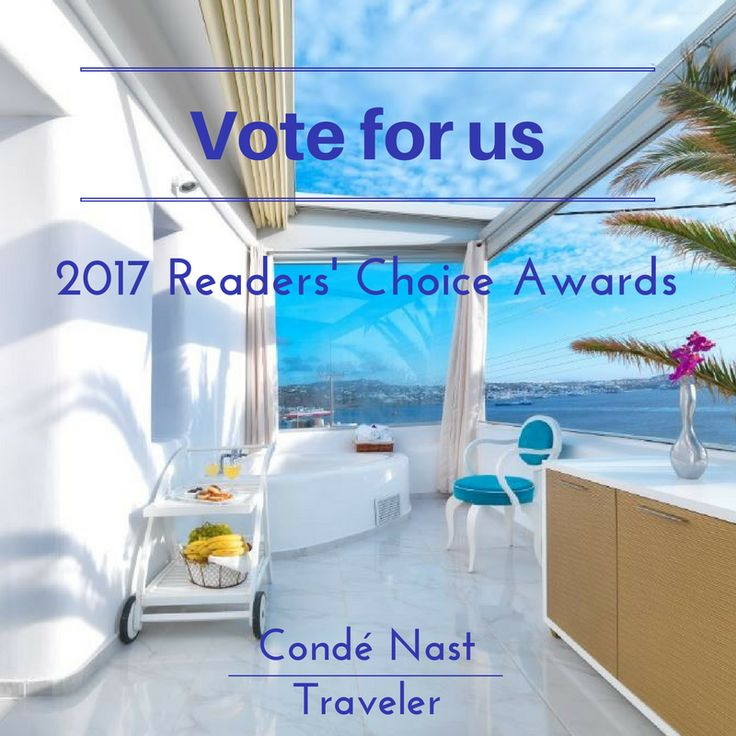 Please vote for us at the 2017 Reader's Choice Awards by the Condé Nast Traveler.