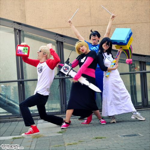 homestuck cosplay | Great Cosplay, Homestuck: We are the Champions //yes you people ARE the beta kids