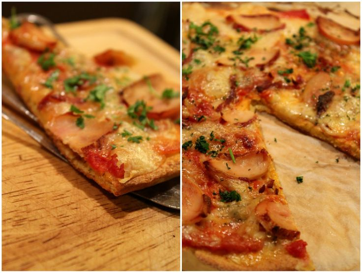 Mat for sjelen: Verdens Beste Lavkarbo-Pizza (cottage cheese, kokosmel) #lowcarb #Italian #cottagecheese