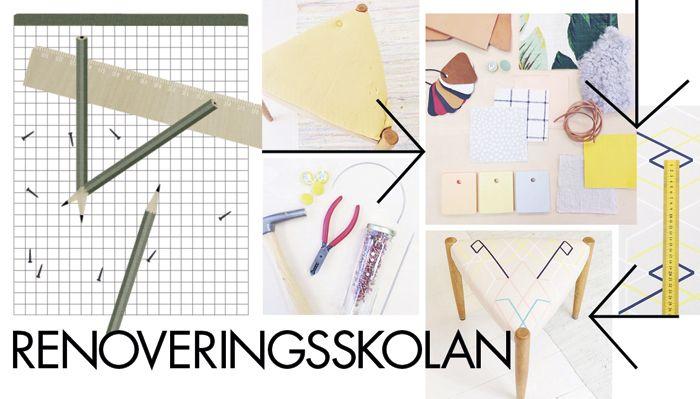 På loppisar runt om i Sverige finns det gott om fåtöljer och stolar som behöver kläs om. Många mindre möbler från 50 och 60 talet är enkla i modellen och behöver inte vara så svåra att...