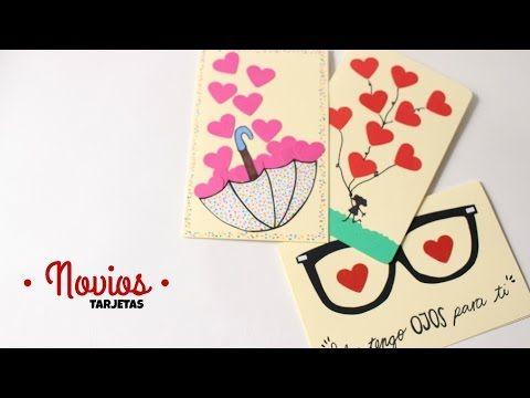 Cartas / Tarjetas Para Mi Novio Fáciles y Bonitas - YouTube