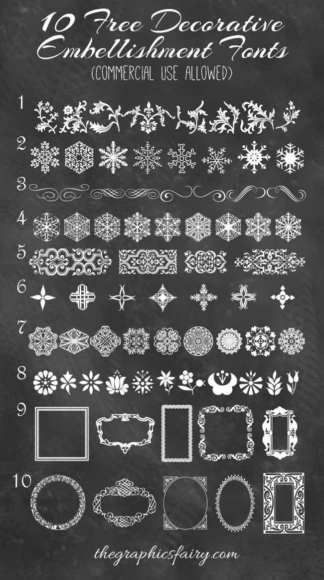 Best Decorative Embellishment Fonts. Free and okay for commercial use ...: https://www.pinterest.com/pin/222294931581007406