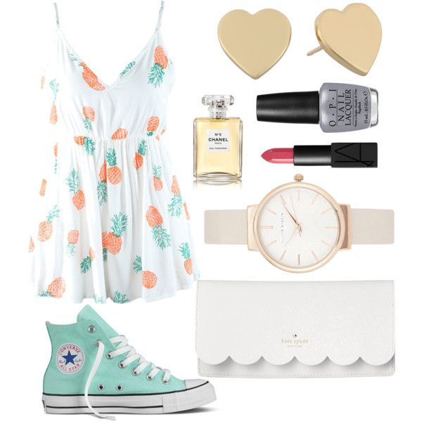 spring☆summer picnic outfit
