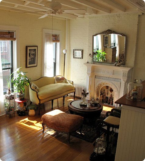 Living Room...I Just Realized How Much I Like Old World Coziness
