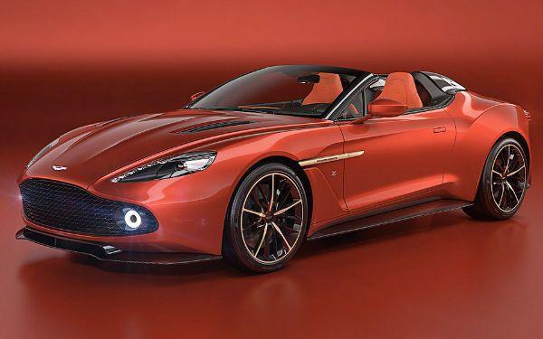 2019 Aston Martin Vanquish Convertible Aston Martin Cars Aston