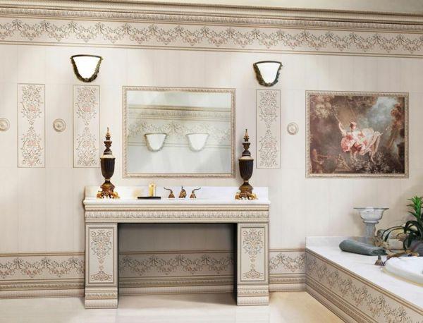 fliesengestaltung im bad coole badezimmer bilder - Fliesengestaltung Bad