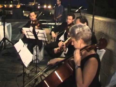 HIRE A STRING QUARTET FOR CHUPPAH - HUPPAH - FOR WEDDING RECEPTION IN IS...