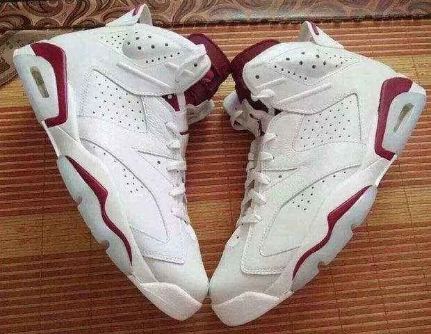 """Air Jordan 6 """"Maroon"""" Is Back With Nike Air - SneakerNews.com"""