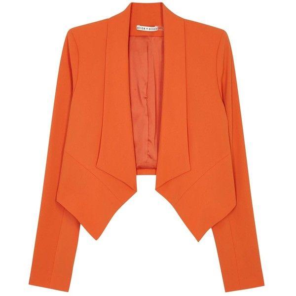 Top 25  best Orange blazer ideas on Pinterest | Orange blazer ...