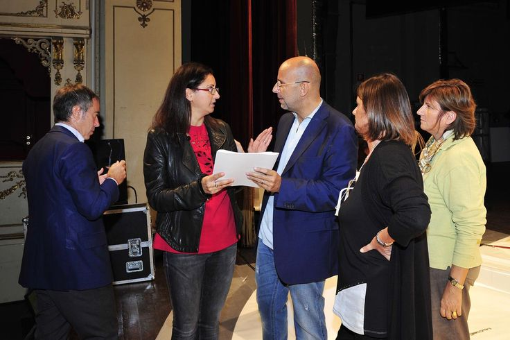 Preparazione dell'evento  foto Luca Toni